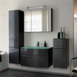 Мебель для ванных комнат Pelipal серия Roulette Комплект мебели Pelipal Roulette, Антрацит лаковый высокоглянцевый, 384/900/384 мм