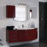 Мебель для ванных комнат Pelipal серия Roulette Комплект мебели Pelipal Roulette, Рубиновый лаковый высокоглянцевый, 1680 мм