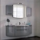 Мебель для ванных комнат Pelipal серия Roulette Комплект мебели Pelipal Roulette, Серебрянный лаковый высокоглянцевый, 1680 мм