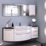 Мебель для ванных комнат Pelipal серия Roulette Комплект мебели Pelipal Roulette, Белый лаковый высокоглянцевый, 1680 мм