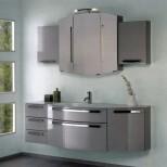 Мебель для ванных комнат Pelipal серия Roulette Комплект мебели Pelipal Roulette, Серебрянный лаковый высокоглянцевый, 1690 мм