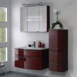 Мебель для ванных комнат Pelipal серия Roulette Комплект мебели Pelipal Roulette, Рубиновый лаковый высокоглянцевый, 900/385 мм