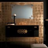 Мебель для ванных комнат Eurolegno серия Glamour Мебель для ванной комнаты Eurolegno Glamour Композиция 2