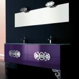 Мебель для ванных комнат Eurolegno серия Glamour Мебель для ванной комнаты Eurolegno Glamour Композиция 6