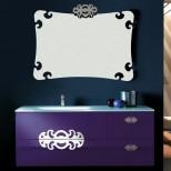 Мебель для ванных комнат Eurolegno серия Glamour Мебель для ванной комнаты Eurolegno Glamour Композиция 7