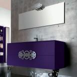 Мебель для ванных комнат Eurolegno серия Glamour Мебель для ванной комнаты Eurolegno Glamour Композиция 8