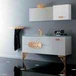 Мебель для ванных комнат Eurolegno серия Glamour Мебель для ванной комнаты Eurolegno Glamour Композиция 10