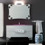Мебель для ванных комнат Eurolegno серия Glamour Мебель для ванной комнаты Eurolegno Glamour Композиция 12