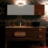 Мебель для ванных комнат Eurolegno серия Glamour Мебель для ванной комнаты Eurolegno Glamour Композиция 14