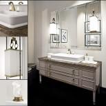 Мебель для ванных комнат Oasis серия Lutetia Oasis Lutetia Композиция №11 Комплект мебели 180х56хh77 см