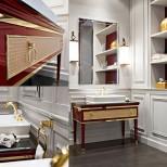 Мебель для ванных комнат Oasis серия Lutetia Oasis Lutetia Комплект мебели 115х56хh77 см