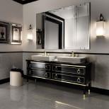 Мебель для ванных комнат Oasis серия Lutetia Oasis Lutetia Композиция №1 Комплект мебели 180х56хh77 см