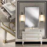 Мебель для ванных комнат Oasis серия Lutetia Oasis Lutetia Композиция №6 Комплект мебели 115х56хh77 см