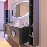 Мебель для ванных комнат Eurolegno серия Moka Мебель для ванной комнаты Eurolegno Moka Композиция 1