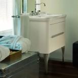 Мебель для ванных комнат Kerasan серия Waldorf Kerasan Waldorf База подвесная под раковину 80см, цвет матовый белый/хром