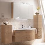 Мебель для ванных комнат Pelipal серия Cassca Pelipal Cassca Комплект подвесной мебели 1210 мм, декор: мед